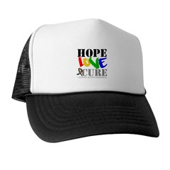 Hope Love Cure Autism Trucker Hat