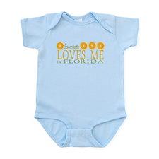 Somebody Loves Me in Florida Infant Bodysuit