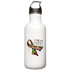 For My Cousin - Autism Water Bottle