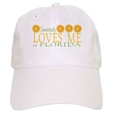 Somebody Loves Me in Florida Baseball Cap
