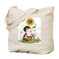 Gardening for bunnies Tote Bag