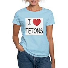 I heart tetons T-Shirt