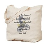 Why Motocross? Tote Bag