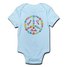 Peace Love Books Infant Bodysuit