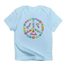 Peace Love Books Infant T-Shirt
