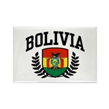 Bolivia Rectangle Magnet
