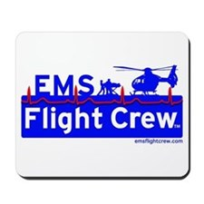 EMS Flight Crew - (new design front & back) Mousep
