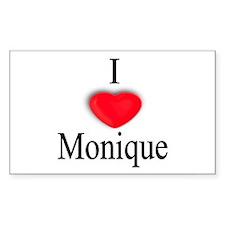 Monique Rectangle Decal