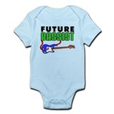 Future Bassist Blue Bass Infant Bodysuit