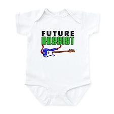 Future Bassist Blue Bass Infant Bodysuit