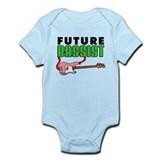 Future Bassist Pink Bass Infant Bodysuit