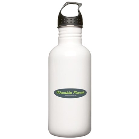 Bikeable Planet Stainless Water Bottle 1.0L