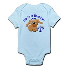 baby's first Hanukah Infant Bodysuit