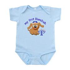 baby's first Hanukah Infant Bodysuit