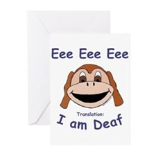 """Eee Eee Eee"" Greeting Cards (Pk of 10)"