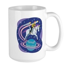 Star Trek Unicorn Enterprise Mug
