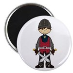 "Cute Medieval Knight 2.25"" Magnet (10 Pk)"