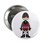 "Cute Medieval Knight 2.25"" Button"