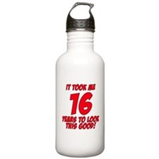 It Took Me 16 Years To Look This Good Water Bottle
