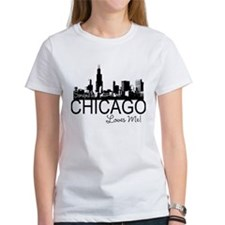 Someone in Chicago Loves Me S Tee