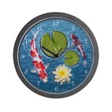 Unique Lily pad Wall Clock