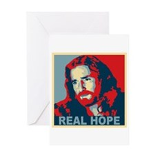 Real Hope Jesus Greeting Card