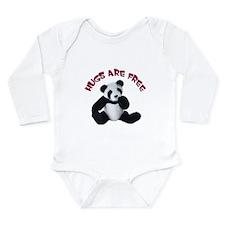 Panda Bear toy Long Sleeve Infant Bodysuit