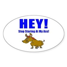 Funny Ass Sticker (Oval)