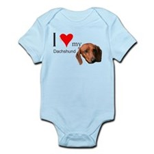 Cute Weiner dogs Infant Bodysuit