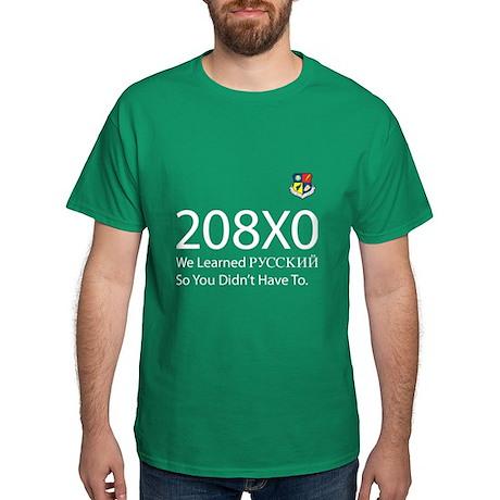 USAFSS 208X0 Russian Dark T-Shirt