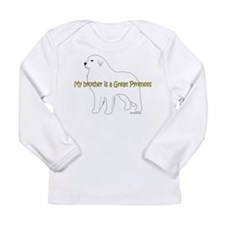 My Brother is a Great Pyrenees Long Sleeve Infant