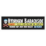 Hydrogen Barackside Sticker (Bumper)