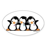 Penguins (together) Decal