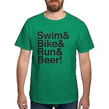 Triathletes for Beer! T-Shirt