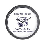 Show Me The DX! Wall Clock