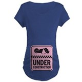 Pink Baby Construction T-Shirt