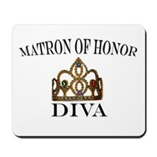 Matron of Honor DIVA Mousepad