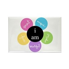 """i am..."" Rectangle Magnet"