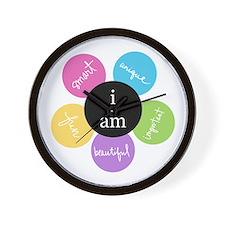 """""""i am..."""" Wall Clock"""