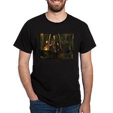 Morrigan, Queen of Shadows Black T-Shirt