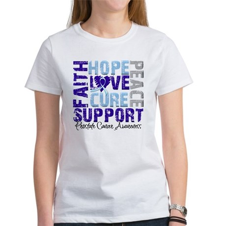 Hope Prostate Cancer Women's T-Shirt