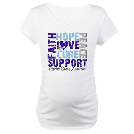 Hope Prostate Cancer Maternity T-Shirt