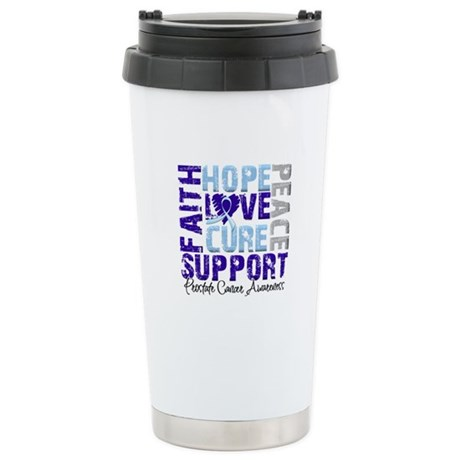 Hope Prostate Cancer Ceramic Travel Mug