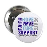 Hope Prostate Cancer 2.25&quot; Button (100 pack)