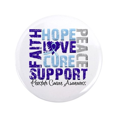 "Hope Prostate Cancer 3.5"" Button (100 pack)"