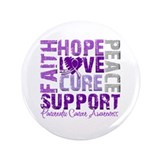 "Hope Pancreatic Cancer 3.5"" Button (100 pack)"