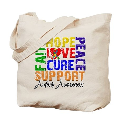 Hope Autism Tote Bag