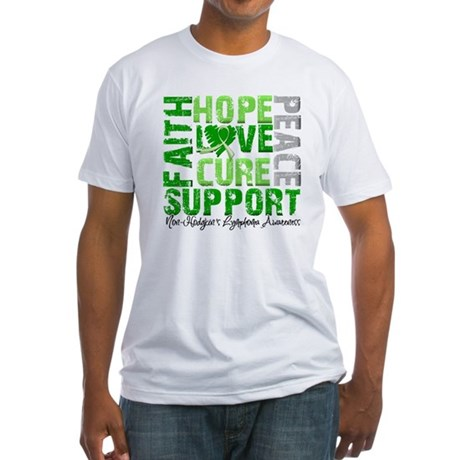 Non-Hodgkin's Lymphoma Fitted T-Shirt