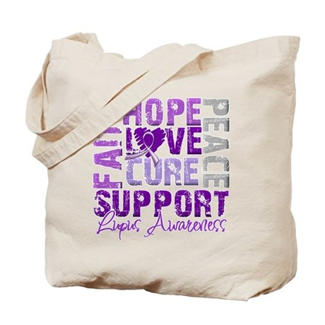 Hope Cure Lupus Tote Bag