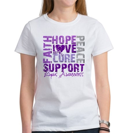 Hope Cure Lupus Women's T-Shirt